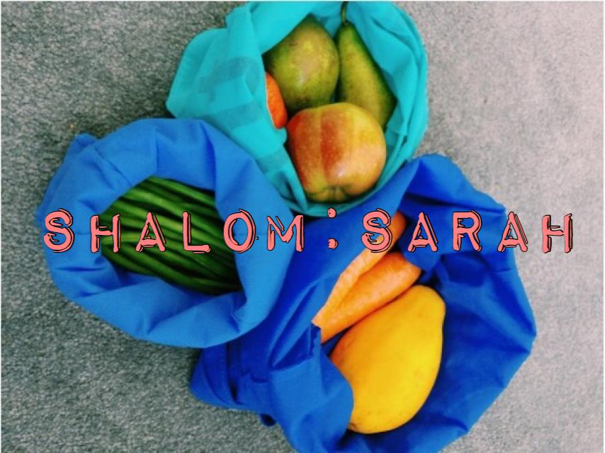 Shalom: Sarah